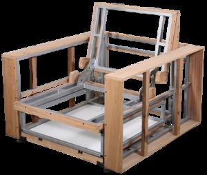 efe hospital seat frame